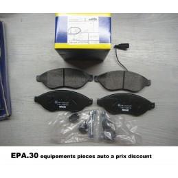 PLAQUETTES DE FREIN AVANT JUMPER 2 DUCATO 2 3 BOXER  - EPA30 - .