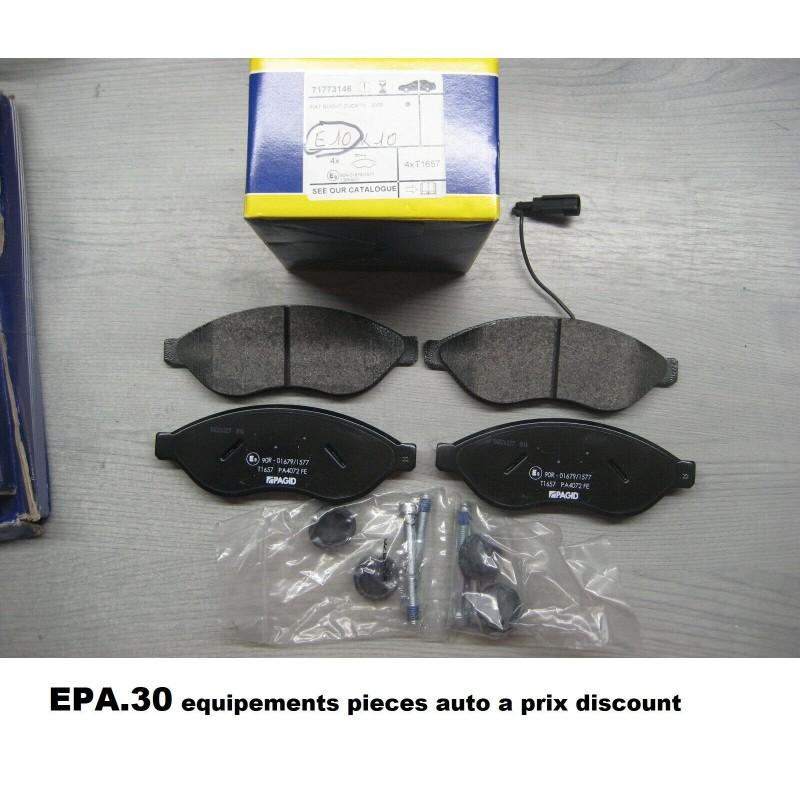 PLAQUETTES DE FREIN AVANT JUMPER 2 DUCATO 2 3 BOXER  - EPA30.