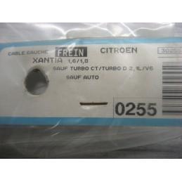 CABLE DE FREIN GAUCHE CITROEN XANTIA TOUS TYPES sauf V6 APRES 1993  - EPA30.
