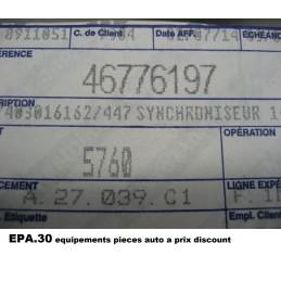 BAGUE SYNCHRO DE BOITE ALFA 156 MITO GT FIAT 500 B ABARTH ARCHETTA  - EPA30.