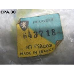 BOUTON A VISSER COMMANDE LAVE VITRE PEUGEOT 204 - 6437.18 - EPA30.