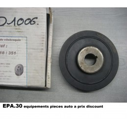 POULIE DAMPER PEUGEOT 206 307 406 607 807 EXPERT PARTNER BERLINGO C4 C5  - EPA30 - .