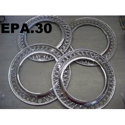 4 ENJOLIVEURS DE ROUES FIAT PRIMULA - EPA30 - .