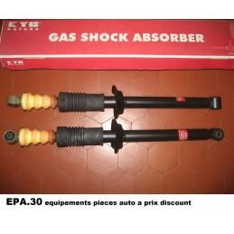 PAIRE AMORTISSEURS ARRIERE FORD FIESTA Mk3 XR2 - EPA30.