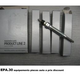 4 BOUGIE DE PRECHAUFFAGE HYUNDAI H1 H100 PORTER TERRACAN PREGIO  - EPA30 - .