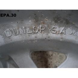 """4 JANTES ALU DUNLOP 13"""" 4X98 5"""" SIMCA 1000 1307 1308 1309 1510 SOLARA HORIZON - EPA30 - ."""
