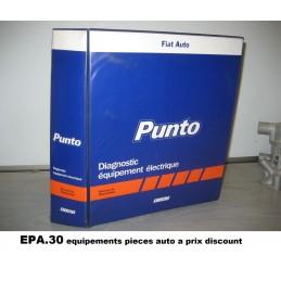 RTA CATALOGUE MANUEL DIAGNOSTIC ELECTRIQUE FIAT PUNTO 55D - EPA30 - .