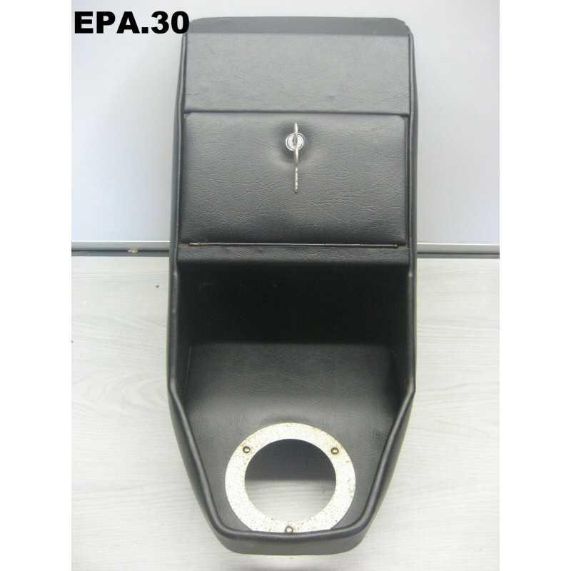 CONSOLE CENTRALE BOITE A GANT AVEC FERMETURE A CLES FIAT 128 - EPA30 - .
