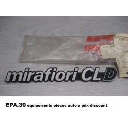 LOGO MONOGRAMME FIAT 131 MIRAFIORI CL D  - EPA30 - .