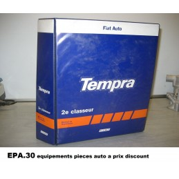RTA CATALOGUE MANUEL REPARATION FIAT TEMPRA 1.4 1.8IE 2.0IE  - EPA30 - .