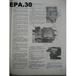 RTA EA CITROEN DS 21 DS21  - RTA2 - EPA30 - .