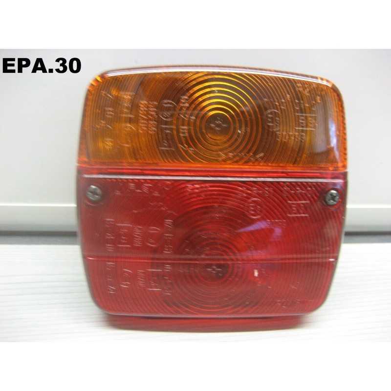FEU DROIT OU GAUCHE 4 FONCTIONS 12V REMORQUE CARAVANE TRACTEUR BENNE - EPA30.