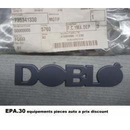 LOGO EMBLEME MONOGRAMME FIAT DOBLO  - EPA30 - .