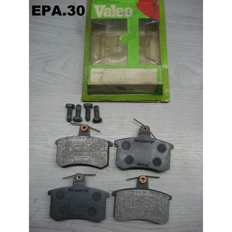 PLAQUETTES FREIN ARRIERE AUDI 80 100 200 MONTAGE LUCAS/TRW - EPA30.