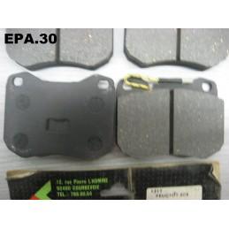 PLAQUETTES FREIN AVANT PEUGEOT 604 TALBOT TAGORA MONTAGE ATE - EPA30.