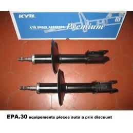 PAIRE AMORTISSEURS AVANT RENAULT CLIO série 1 avec alésages 52 mm - EPA30 - .