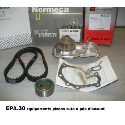 KIT DE DISTRIBUTION + POMPE A EAU RENAULT MEGANE EXPRESS  - EPA30 - .