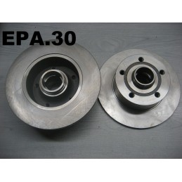 2 DISQUES FREIN ARRIERE DIAM. 245 MM AUDI A4 SAUF QUATTRO - EPA30 - .