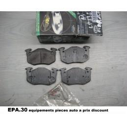 PLAQUETTES DE FREIN ARRIERE RENAULT 19 R19 1 2 CLIO 1 2 MEGANE 1  - EPA30 - .