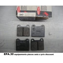 PLAQUETTES DE FREIN AUDI 50 80 DERBY GOLF JETTA PASSAT POLO SCIROCCO  - EPA30 - .