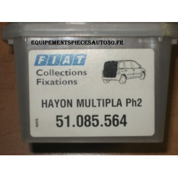 KIT FIXATION HAYON ARRIERE FIAT MULTIPLA phase 2  - EPA30 - .