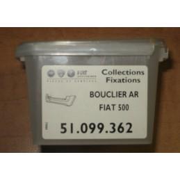 KIT FIXATION  BOUCLIER PARE CHOC ARRIERE FIAT 500  - EPA30 - .