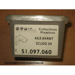 KIT FIXATION AILE AVANT FIAT SCUDO - EPA30.