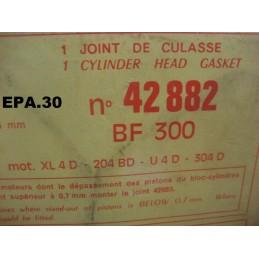JOINT CULASSE PEUGEOT 204 304 DIESEL XL4D 204BD U4D 304D INDENOR - EPA30.