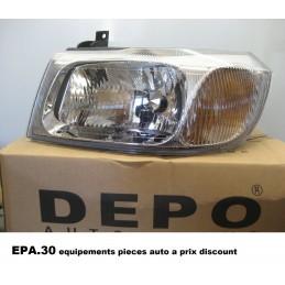 PHARE OPTIQUE AVANT GAUCHE FORD TRANSIT 5 Mk5 01/00-05/06  - EPA30 - .