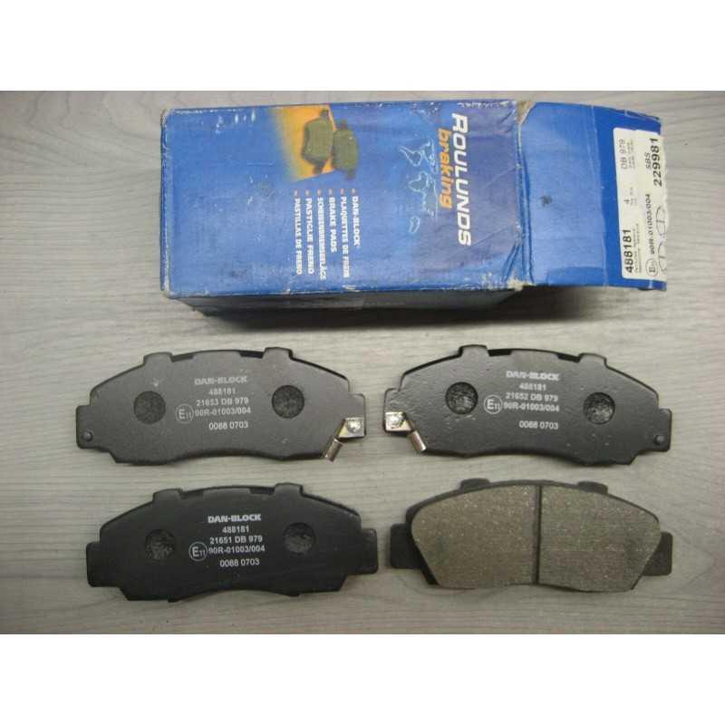 PLAQUETTES FREIN ACCORD CIVIC CR-V HR-V LEGEND NSX ODYSSEY PRELUDE SHUTTLE  ROVER 618 620 623 - EPA30.