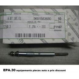 BOUGIE PRECHAUFFAGE PEUGEOT 307 308 406 407 508 607 807 BOXER EXPERT CITROEN C4 C5 C8 JUMPER JUMPY SCUDO ULYSSE - EPA30 - .