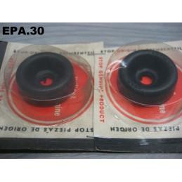 2 CAPUCHONS CYLINDRE ROUE ARRIERE CITROEN 2CV 3CV DYANE MEHARI AMI 6 8 - EPA30 - .