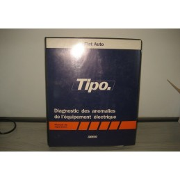 RTA CATALOGUE MANUEL DIAGNOSTIC DES PANNES FIAT TIPO  - EPA30 - .