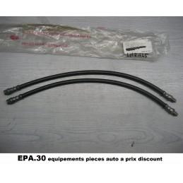 PAIRE DE FLEXIBLES DE FREIN AVANT RENAULT ALPINE V6 GT de 85-90  - EPA30 - .
