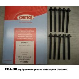 JEU DE 10 VIS DE CULASSE RENAULT CLIO 1 2 KANGOO 1 TWINGO 1 2  - EPA30 - .