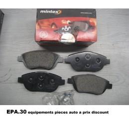PLAQUETTES DE FREIN AVANT CITROEN C3 1 2 C4 2 DS3 PEUGEOT 2008  - EPA30 - .